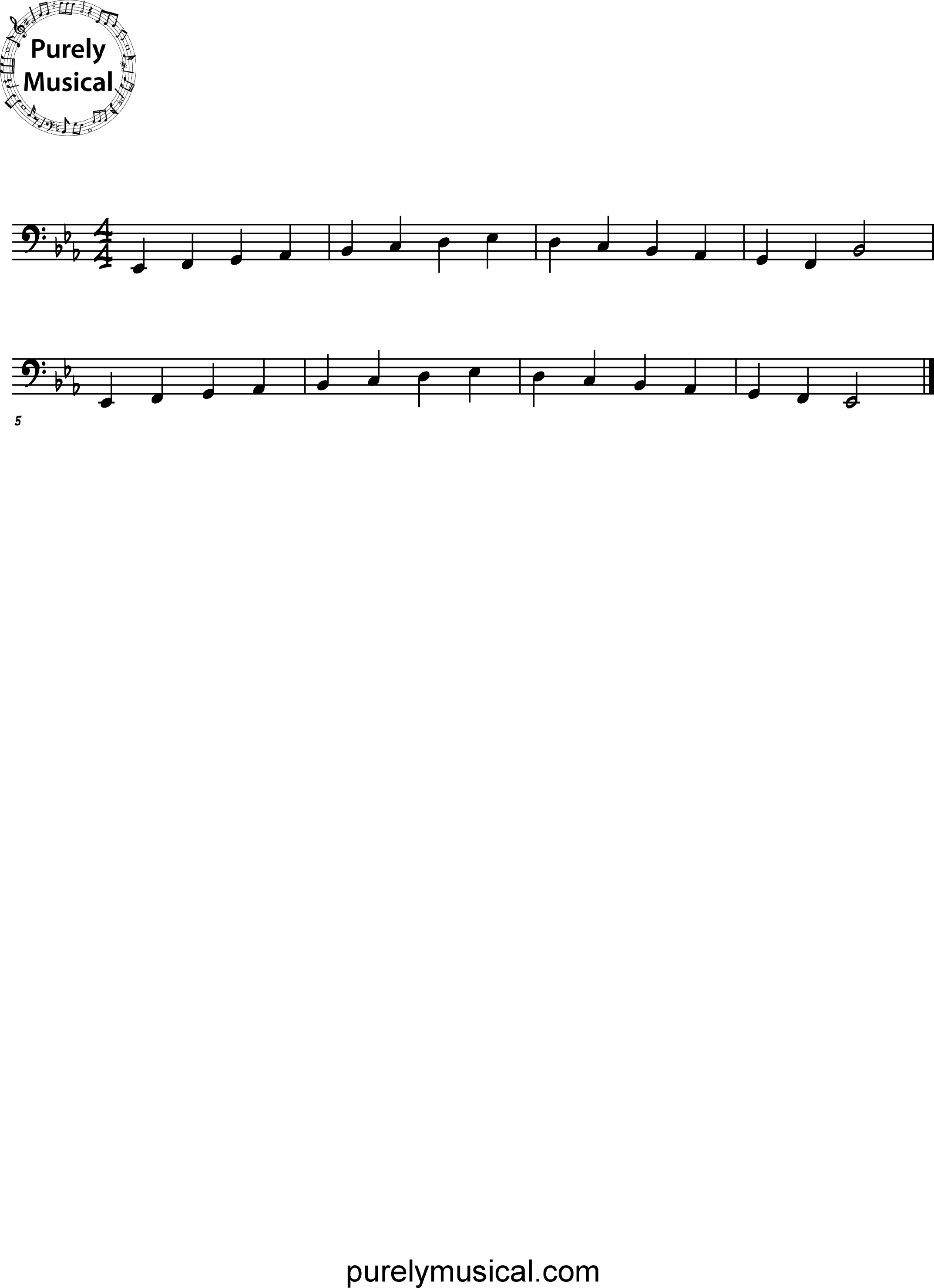 Intermediate  Scale Eb Major