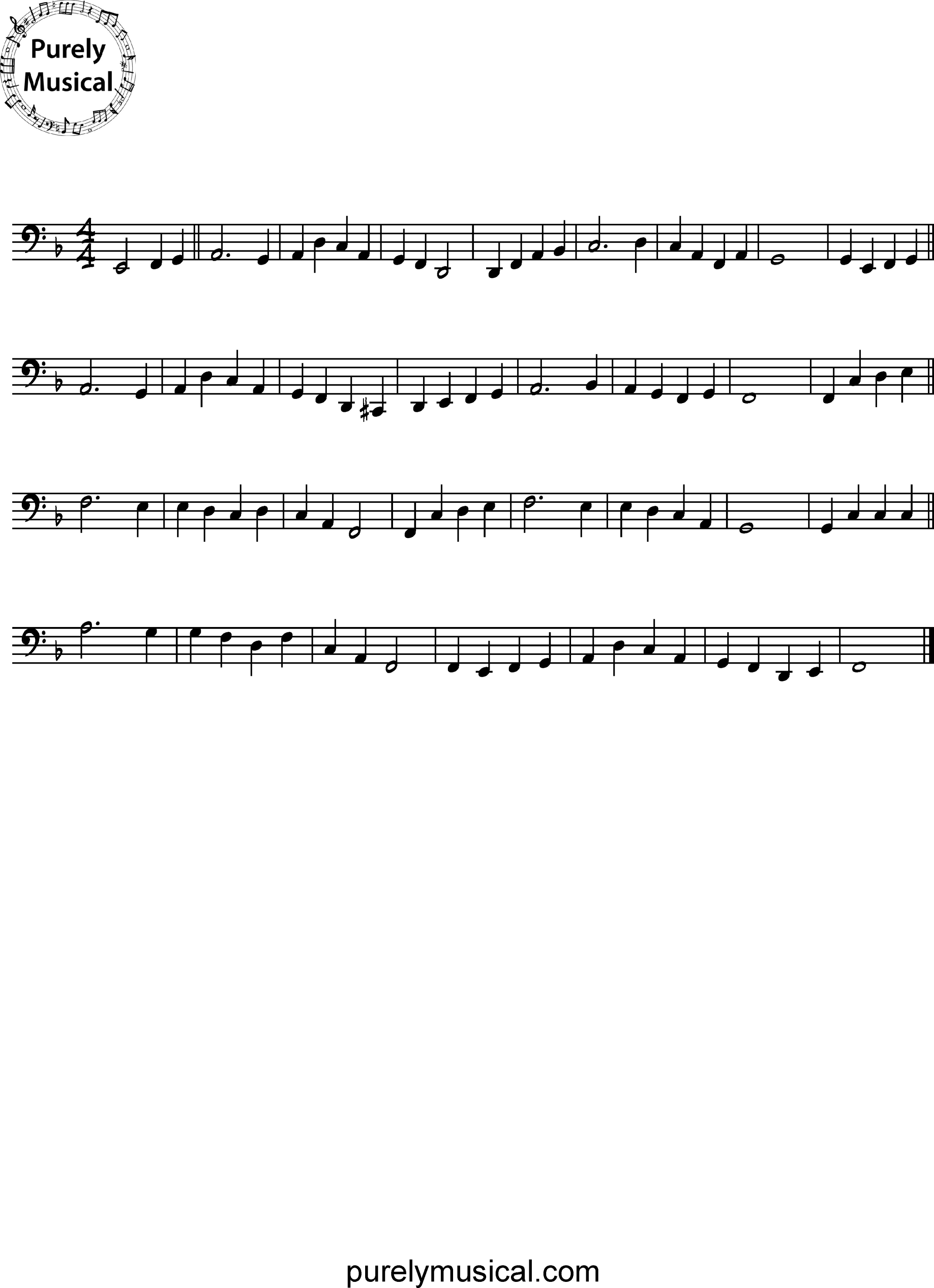 Intermediate  Melodic Execise Danny Boy for Cello